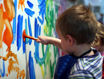 Laboratori di pittura per bambini