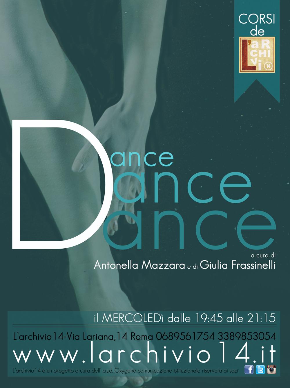 Corso Dance Dance  mercoledì dalle 19:45