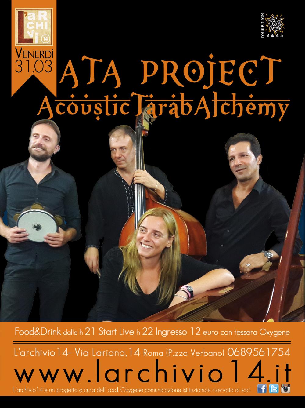 ATA Project </br> 31 marzo ore 22