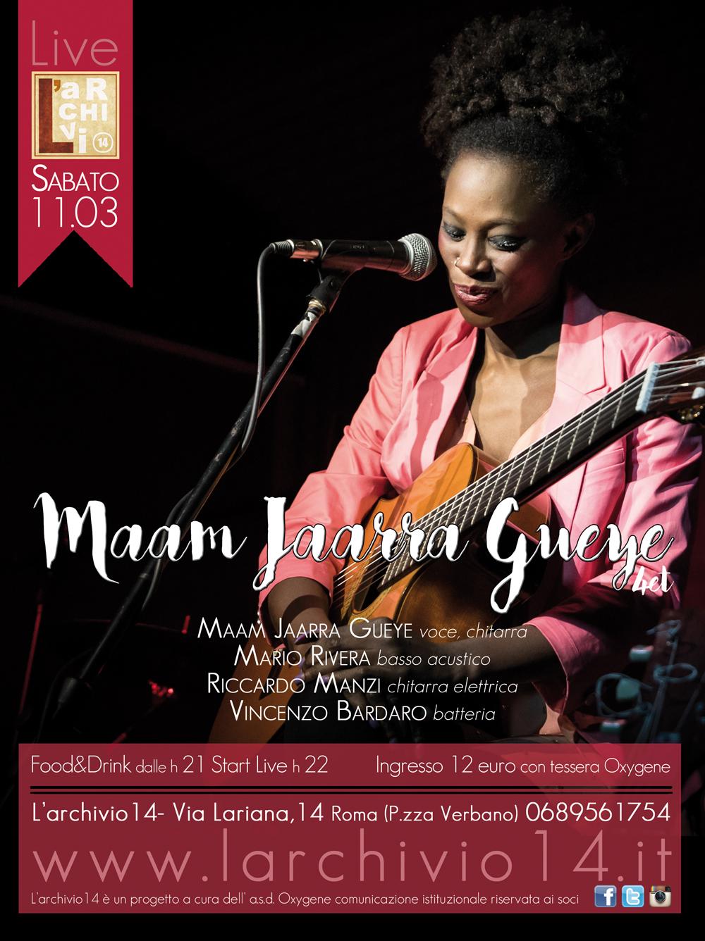 Maam Jaarra Gueye 4et </br> 11 marzo