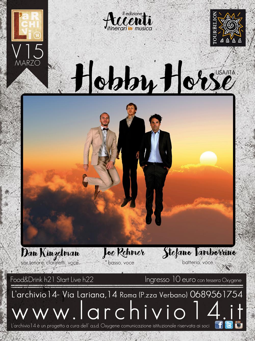 Hooby Horse <br/> 15 marzo h 21